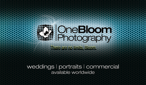 Business card onebloom photography blog portland or vancouver wa business card design photography front reheart Image collections